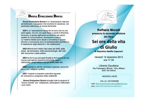 6 ore della vita di Giulio - Raffaele Morelli
